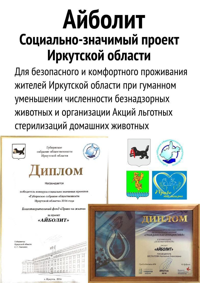 Социально-значимый проект Иркутской области